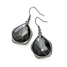 Hematite Black Diamond Drop Earrings Ladies Fashion Jewellery Drop Earrings