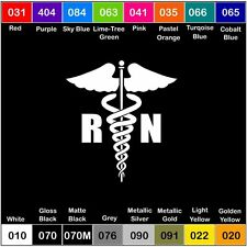 RN Logo Vinyl Decal Sticker Window Car Truck Nurse Love
