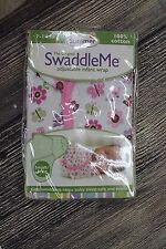Summer The Original Swaddle Me Adjustable Infant Wrap S/M 7-14 lbs Butterfly New