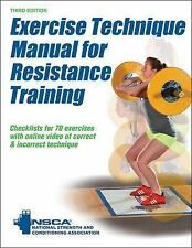 Exercise Technique Manual for Resistance Training 3rd Edition with Online...