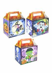 Halloween Food Box Sweet Treat Box Kids Picnic Cardboard Box Party Fillers