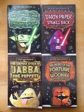 lot Of Four Origami Yoda Books by Tom Angleberger-darth Paper-Jabba-wookie