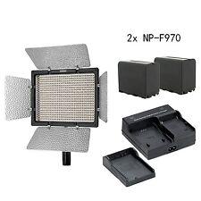 YONGNUO YN600L II CRI 95 Panel LED Video Light, Remote control, 2* NP-F970