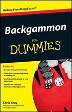 Backgammon For Dummies par Bray, Chris Livre de Poche 9780470770856 Neuf