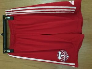 Adidas MLS Portland Timbers Player Issue Game Shorts Red Z59142 Mens SMALL $60