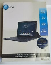 "Onn ONA19TB007 10.1"" 16GB 2GB Touch w/ keyboard Tablet Android 9 Blue Grade C"