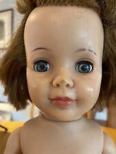 Vtg Ideal Pattite 18� Doll Red Hair