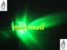 20 x LED 5mm Candle green Candle Flicker Ultra Bright Flickering green LEDs DIY