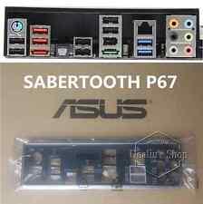 OEM io i/o shield backpate for Asus SABERTOOTH P67  bracket