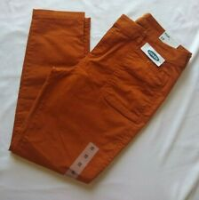 NWT Old Navy Mid-Rise Pixie Ankle Chinos for Women spice of life size 10