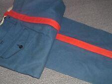 USMC MARINE CORPS DRESS BLUE NCO POLY WOOL  PANTS 34 X 31