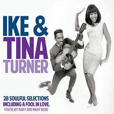 Ike & Tina Turner - Hits - 28 Soulful Selections - CD - BRAND NEW SEALED