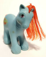 Vintage My Little Pony G1 MLP * BIG BROTHER * BARNACLE Clydesdale Pirate 1987
