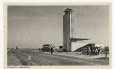 Monument Afsluitdijk Netherlands Vintage Postcard 307a