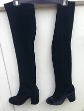 Topshop Pull On Over Knee Boots for Women