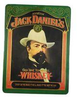 Vintage Jack Daniel's Old No. 7 Whiskey Green Metal Tin Collectible England