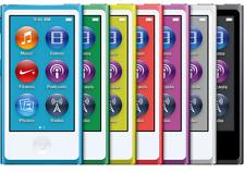 Nueva marca Apple iPod Nano 7th generación 16GB Sellado En Caja-Todos Los Colores