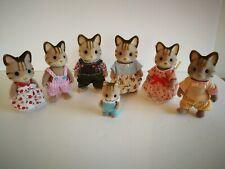 SYLVANIAN - MCCAVITY CELEBRATION CAT FAMILY WITH ORIGINAL CLOTHING