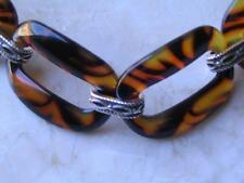 """~Brighton Bracelet """"Desert Sky"""" Tortoise Decor Link Style.Nwt!~"""