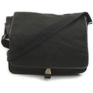 Prada Messenger Bag  Olive Nylon 1214102