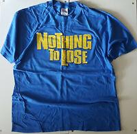 TOMMY BOY 'NOTHING TO LOSE OST PROMO OG 1997 T SHIRT XL BLUE VINTAGE HIP HOP TEE