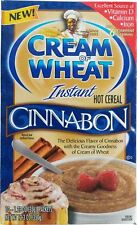 CREAM of WHEAT Instant CINNAMON Hot Cereal FAST SHIP