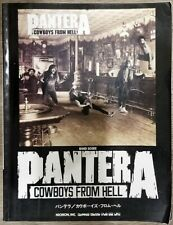 PANTERA - COWBOYS FROM HELL - FULL JAPAN BAND SCORE w/ GUITAR TAB BOOK SONGBOOK