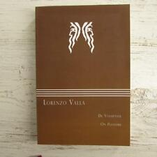 NEW - Lorenzo Valla - On Pleasure - De Voluptate Janus Paperback