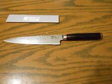 Shun SG0722 6 Inch Hiro Serrated Utility Knife Free Shipping
