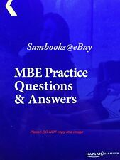 Kaplan PMBR MBE Practice Qs & As W/ UPDATED Material Like Barbri