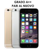 IPHONE 6 64GB RICONDIZIONATO RIGENERATO A++ GOLD NERO GREY SILVER  PARI AL NUOVO