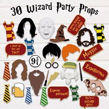 Harry Potter Photo Booth Party props-PDF & JPEG-Imprimable