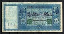 Allemagne  - Germany billet de 100 mark (1) pick 43 21 avril 1910 Very Fine
