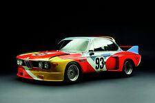1975 BMW 3.0 CSL ALEXANDER CALDER ART CAR Canvas PRINT 24x36 HI RES