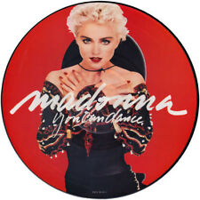 """MADONNA YOU CAN DANCE  VINYL STICKER  100MM ROUND 4"""" HIGH QUALITY OTHERS LISTED,"""
