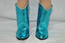 "Our Generation American Girl Journey Girl 18"" Dolls Clothes Blue Cowboy Boots"