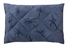 Dkny Diamond Tuck Sapphire Blue Quilted Standard-Queen Decorative Pillow Sham