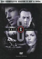 AKTE X - 8. Staffel - David Duchovny & Gillian Anderson - 6 x DVD SET