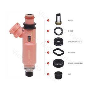 6 TOYOTA CAMRY/HIGHLANDER/SIENNA/SOLARA 3.0/3.3L Fuel Injector Repair Seal Kit