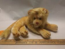 Vintage PUSSY CAT TOY Made in Japan laying Lion