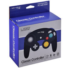 Gamecube USB Controller PC Wired Gamepad RetroLink Black NEW