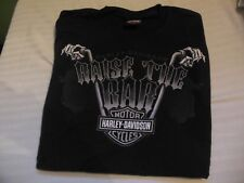 NW0T Men's Harley-Davidson Black Short Sleeve T-Shirt Size Medium
