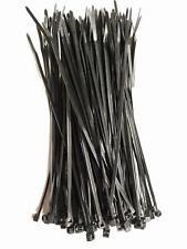 Strong Nylon Plastic 100 Black Cable Ties / Tie Wraps Zip Ties Size 160 x 2.5mm