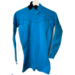 Body Glove Wetsuit Womens Smoothie Long Sleeve Spring Suit Turquoise, Size 9/10
