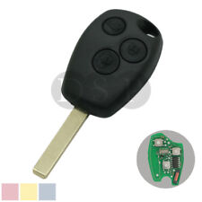 Remote Key 3 Buttons Fob 433MHz Chip PCF7946 fit for RENAULT Master Traffic Clio