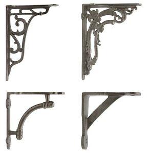 Cast Iron Bracket Shelf Vintage Rustic Antique Retro Ornate Victorian Edwardian