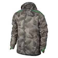 Nike Men's L Shield Impossibly Light Running Jacket Gray GREEN $120 800899 023