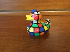 BUD Collectable MINI Rubber Duck - 80s CUBE (2009)