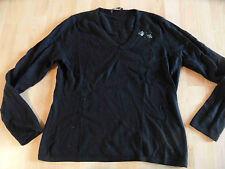 NICE CONNECTION hochwertiger Pullover schwarz V-Ausschnitt Gr. 42  BI1115