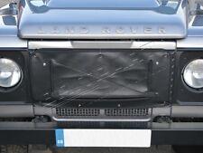 Land rover defender 90, 110 & 130 neuf grille radiateur avant manchon housse-noir